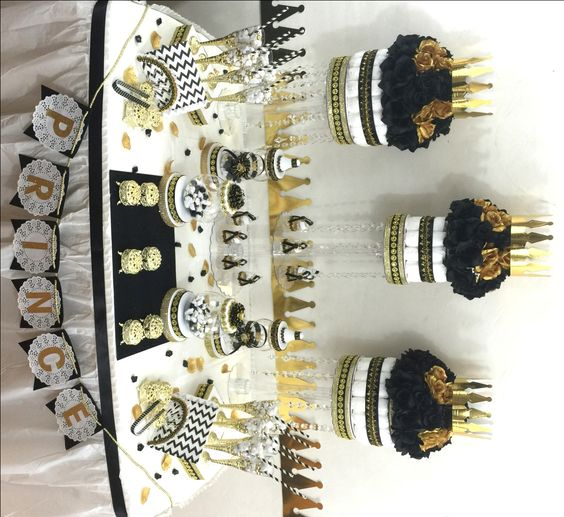 baby shower candy baby shower themes baby shower ideas black and gold