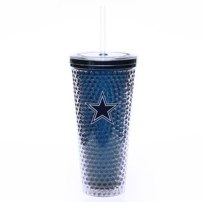 Ice is for losers and that is something Dallas Cowboys fans are not! Keep your beverage ice cold with the Sip n' Go plastic freezer cup.