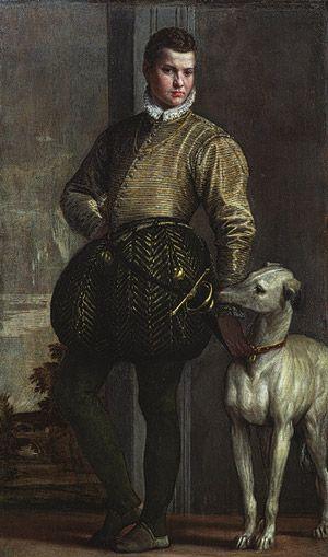 Paolo Veronese (Paolo Caliari) (Italian, Venetian): Boy with a Greyhound (29.100.105)   Heilbrunn Timeline of Art History   The Metropolitan Museum of Art