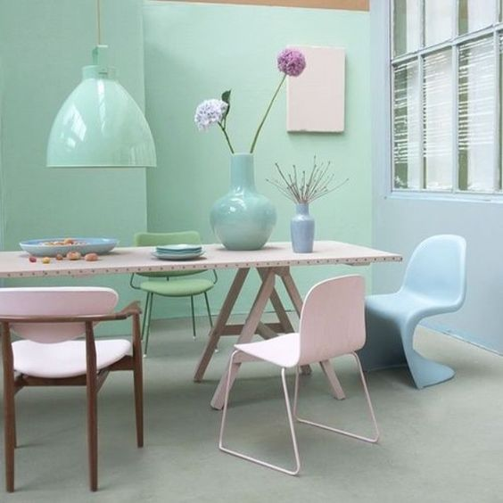 Show your sweet side with a splash of pastel colors #pastels#architecture#decor#decoration#decorideas#design#designinteriors#details#furniture#home#homedecor#homedecorideas#homedesign#homeideas#homeinspiration#instadecor#instadesign#instahome#interiordesign#interiors#interiorstyling#livinginstyle#style#bestoftheday#instadaily#instalike#photooftheday#picoftheday#followme