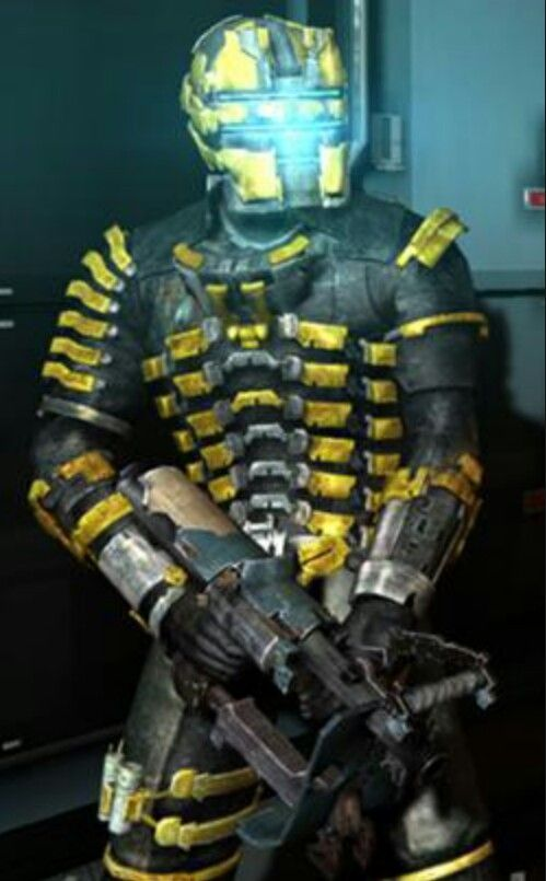 Gold Engineer suit from Dead Space 2. | Video Games ...