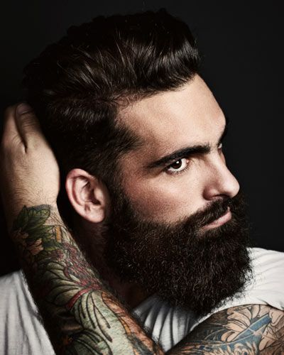 beard tattoo long beards and tat on pinterest. Black Bedroom Furniture Sets. Home Design Ideas