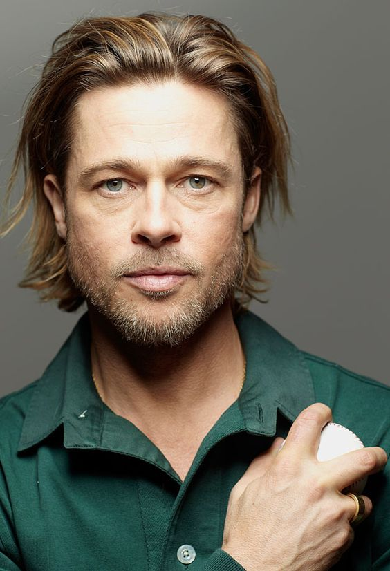 Brad Pitt SI Cover Shoot Outtakes