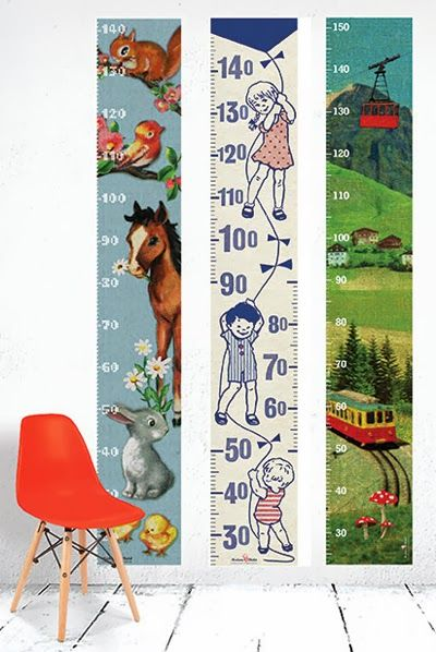 Madame Chalet. Height chart Wall Stickers