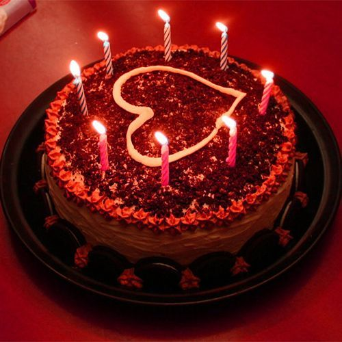 Do You Want To Bring A Big Smile On Lover Romantic Birthday Cake