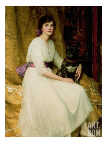 Portrait of Miss Dorothy Dicksee Giclee Print by Frank Bernard Dicksee: