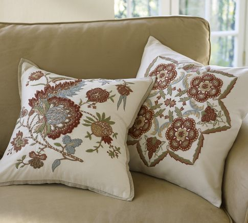 good price: Livingroom Pillow, Cora Embroidered, Cora Kalamkari, Barn Cora, Embroidered Pillows, Decorative Throw Pillows, Living Room Pillows, Potterybarn Pillows