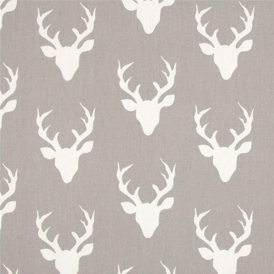 HBR-4434 Buck Forest Mist from Hello Bear from by WhimsyFabrics