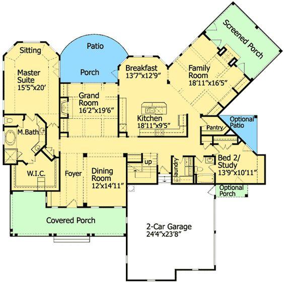 Plan 15710ge Low Country Craftsman Simplicity Craftsman