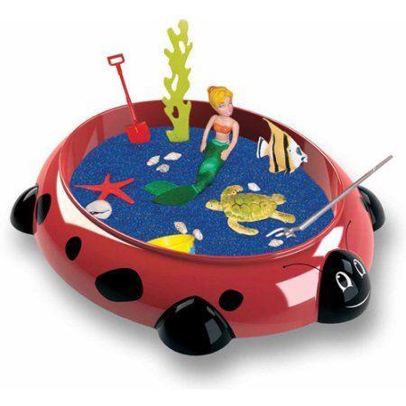 Sandbox Critters Play Set, Ladybug, Multicolor