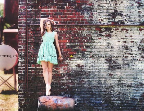 Senior Portraits ~ Pointe Shoes ~ Dance