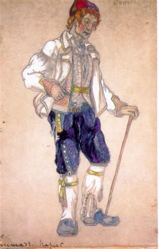 A guy, Gegstad - Nikolái Roerich