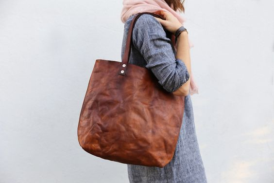 Leather Tote 2