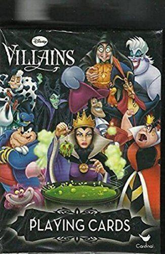 Disney Villains Deck of Playing Cards Disney