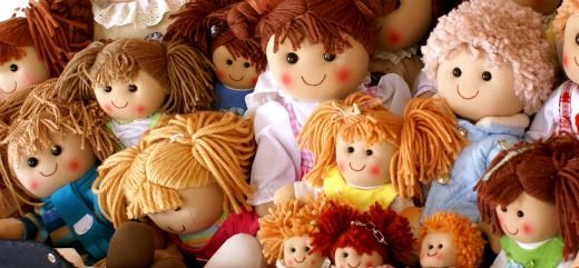 Dolls and real kids? Are DIFFERENT.