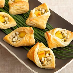 Gouda & Apple Puff Pockets for the next Bunco Party