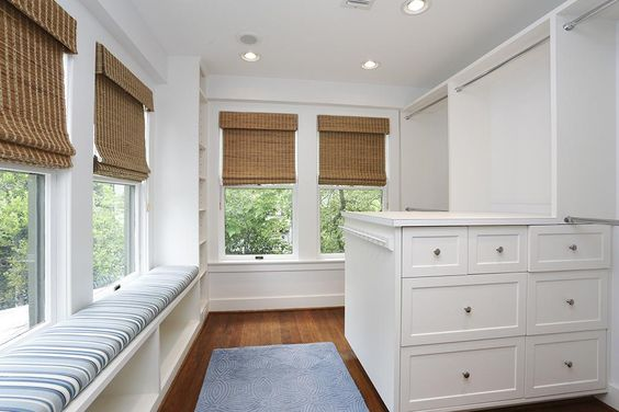 4 Waverly Ct Houston, TX 77005: Photo The largest master closet with built in shelves and drawers.