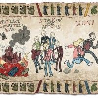 Doctor Who Baywheux Tapestry