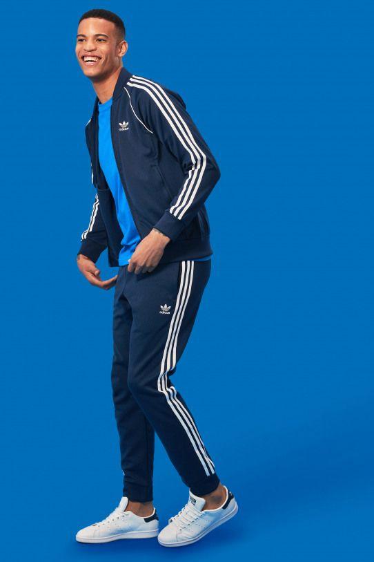 Adidas tracksuit mens, Pants outfit men