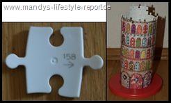 """So auch die neuen 3D Puzzle Tula Moon Edition von Ravensburger.    Hinter """" Tula Moon"""" steckt die britische Künstlerin Steph Dekker.Mit ihren fröhlich-bunten Muster-Mix hat sie bereits viele Herzen erobert.Inspiriert von Farben und Mustern aus der Natur, von alten Kinderbuch-Illustrationen oder vom Bummel über Flohmärkte mixt sie originelle Collagen für Grußkarten, Poster und Accessoires. Ihre Kreationen wirken allesamt heiter, neckisch und haben eines gemeinsam: Der Betrachter entdeckt..."""