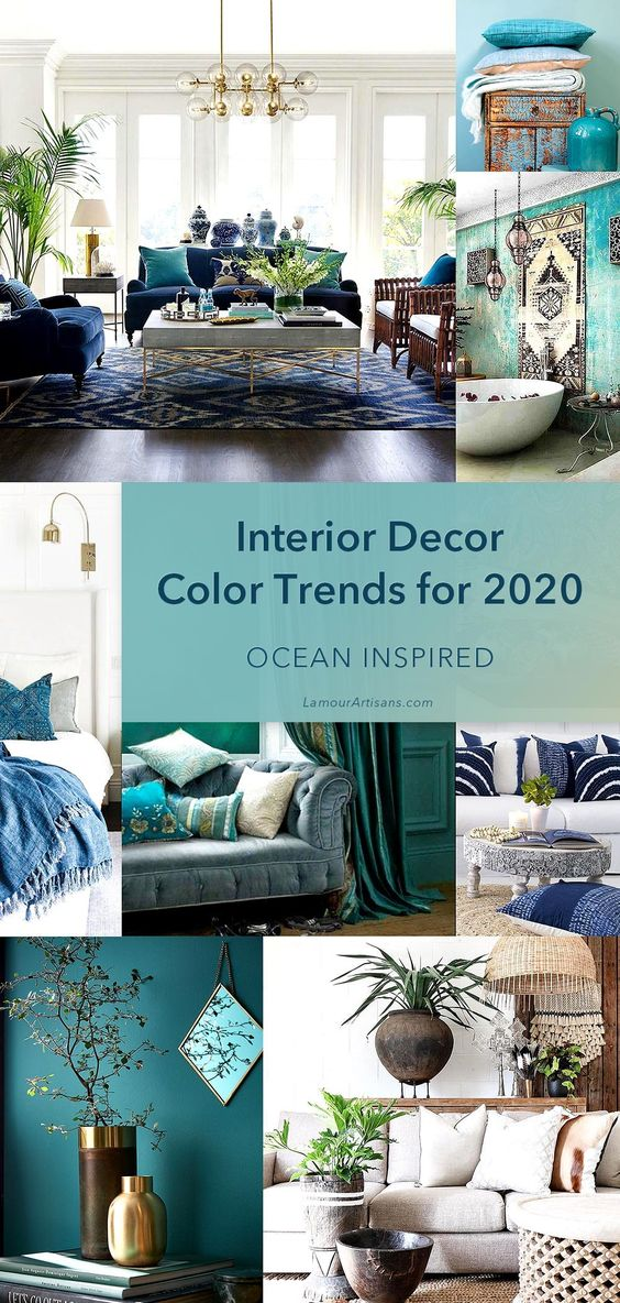 Laurie Pressman, Vice President of the Pantone Color Institute, just let us in on a little secret well in advance of Pantone's official annual announcement. She spoke to an audience at the fashion trade show in Las Vegas, and said that the Pantone Colors of the Year for 2020 are inspired by the sea.