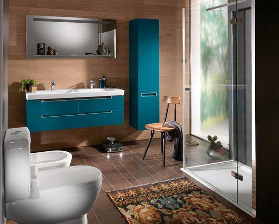 villeroy boch subway 2 0 furniture petrol blue. Black Bedroom Furniture Sets. Home Design Ideas