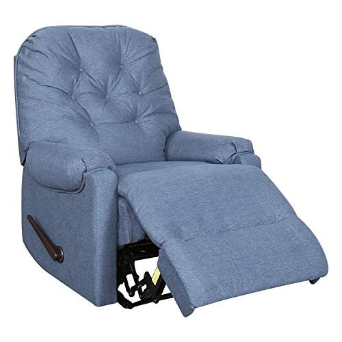 Mecor Glider Recliner Chair Microfiber Tufted Reclining Rocker Chairs Easy Reclined By Handle Livin Recliner Chair Glider Recliner Chair Glider Rocker Recliner