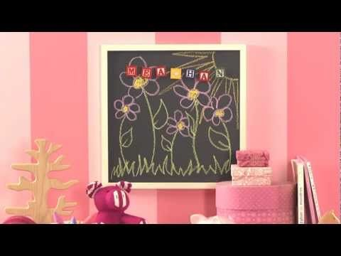 Creating a Magnetic Chalkboard