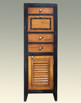 There's something about this that I just love.     Cape Cod Locker, Black
