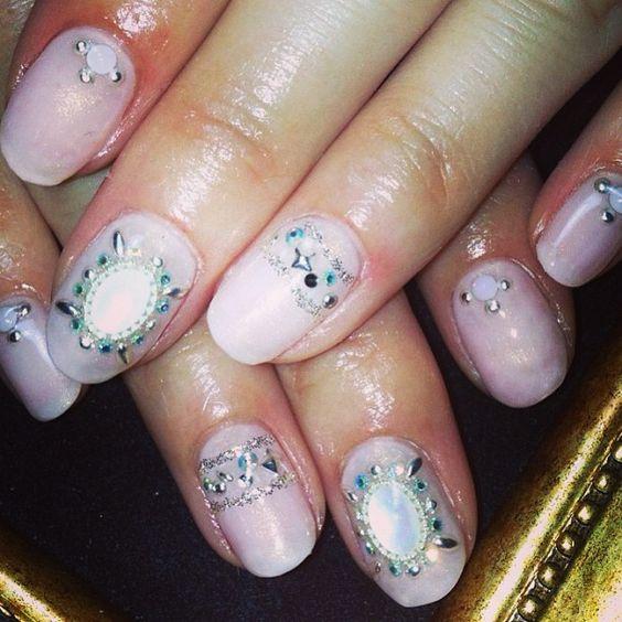 6月のキャンペーンネイル☆6,300円♪♪ #nails #nailart #girly...