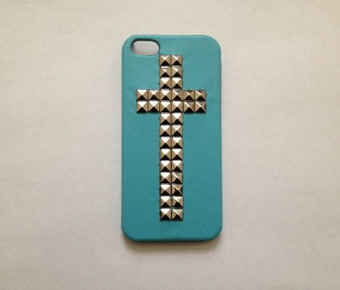 Studded Cross iPhone 5 Case