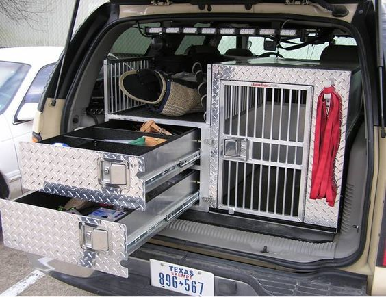 Police K9 Crate Need For Eric S Truck Organizing