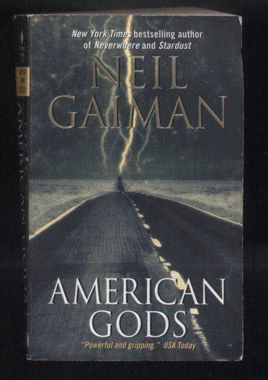 Neil Gaiman American Gods Modern Myth Softcover Novel Fantasy