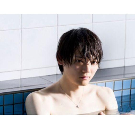 入浴中のセクシーな古川雄輝のかわいい画像