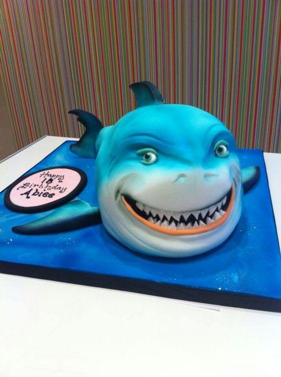 Finding Nemo cake. Richard's cakes