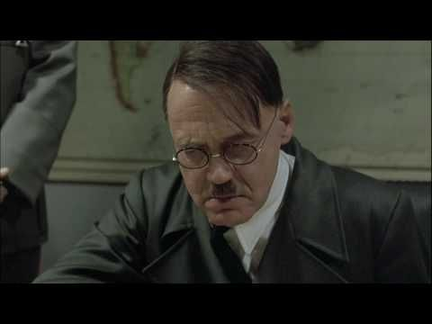 Hitler's Rant - Original Video with English Subtitles [CLICK CC].  Downfall/Der Untergang - 720p HD