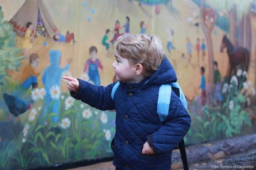 british-vogue:  New images of Prince George of Cambridge are...