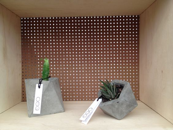 Vasos Geométricos - Octaedro e Icosaedro