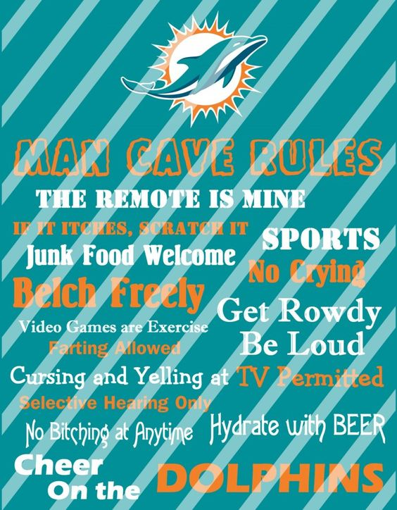 Miami dolphins, Man cave and Dolphins on Pinterest