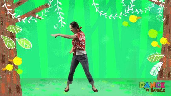 Preschool Learn to Dance: Rainforest explorer #MotherGooseTime #DancenBeats