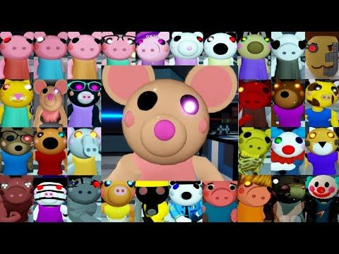 Roblox Piggy All Jumpscares Youtube Piggy Cool Drawings Roblox