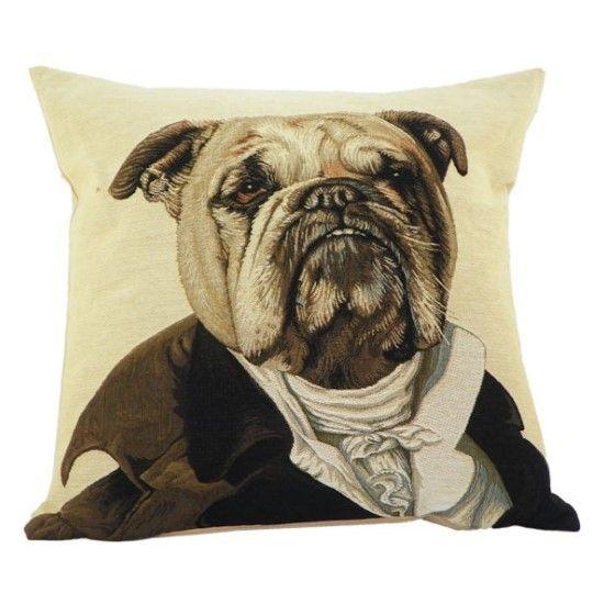 Kissen Aristo Bulldogge - www.romneys.de