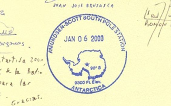 Ambitious trekkers who manage to get here deserve the Amundsen-Scott South Pole Station's passport stamp