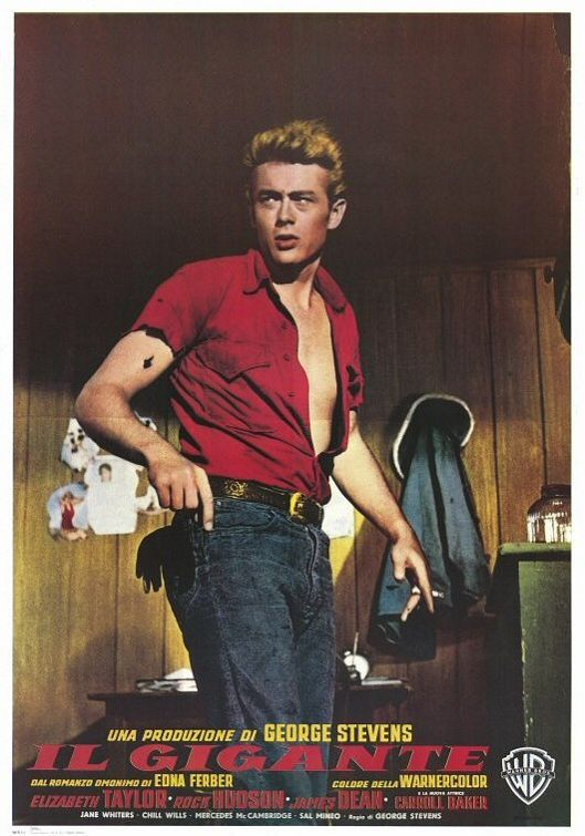 Giant. James Deans last movie, directed by George Stevens.