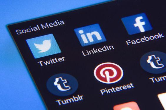 LinkedIn, pinterest and tumblr