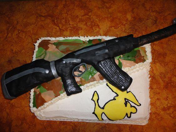 Cake Decorating Caulking Gun : Rifles, Assault rifle and Decoration on Pinterest