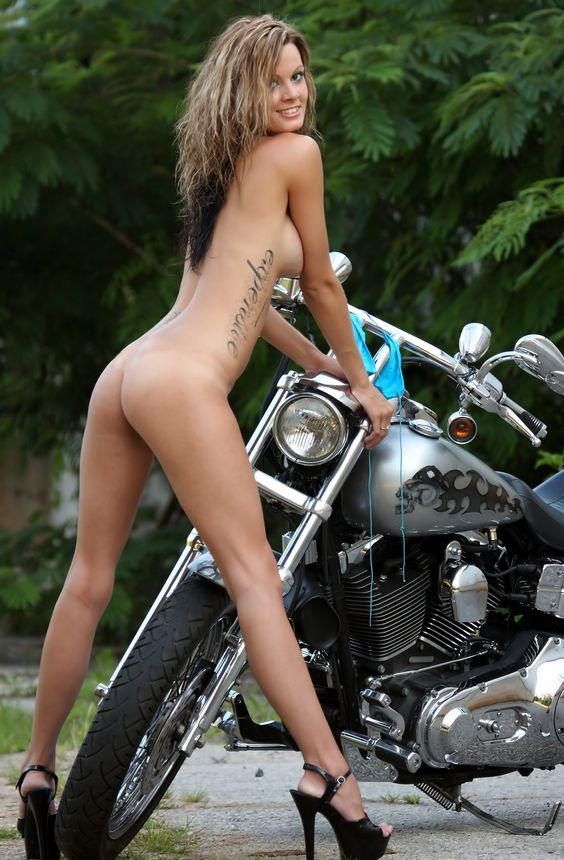 Opinion, actual, Young biker chick naked