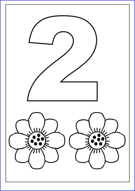 Number 2 Worksheet For Preschool | class activities | Pinterest ...