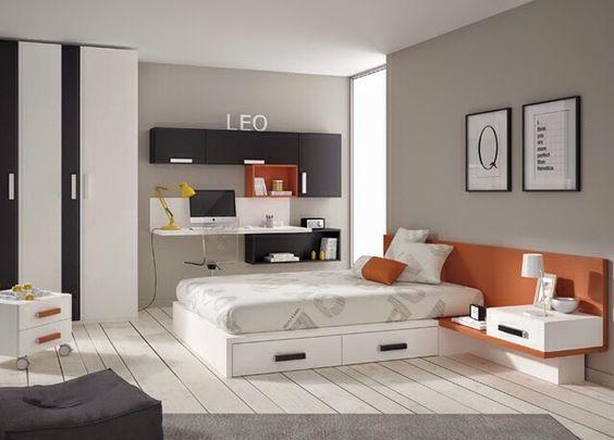 Dormitorios juveniles para chicos y chicas de 16 17 18 19 for Espejos habitacion juvenil