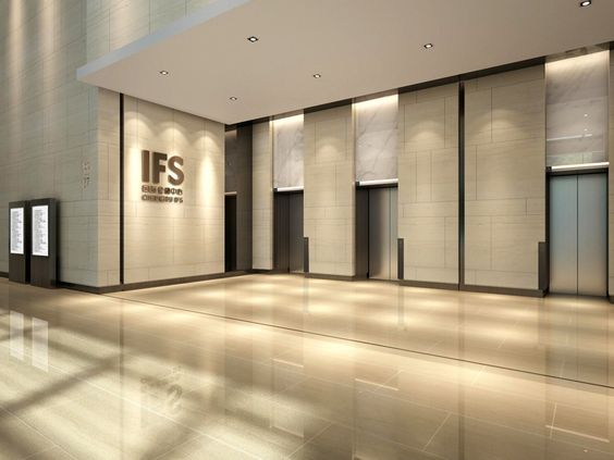 Architecture And Interior Design Commercial Office Lobby